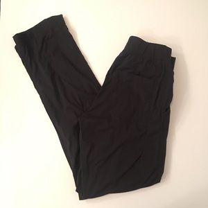 Lululemon Black Stripe Pants Track Joggers